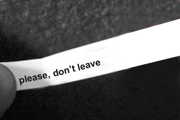 don'tleave